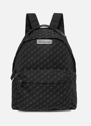 + NET SUSTAIN Falabella Go faux leather-trimmed printed shell backpack