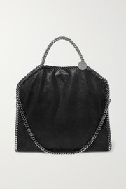 The Falabella small faux brushed-leather shoulder bag