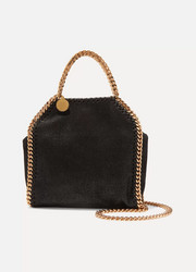 Stella McCartney Falabella 科技磨砂皮革超迷你单肩包
