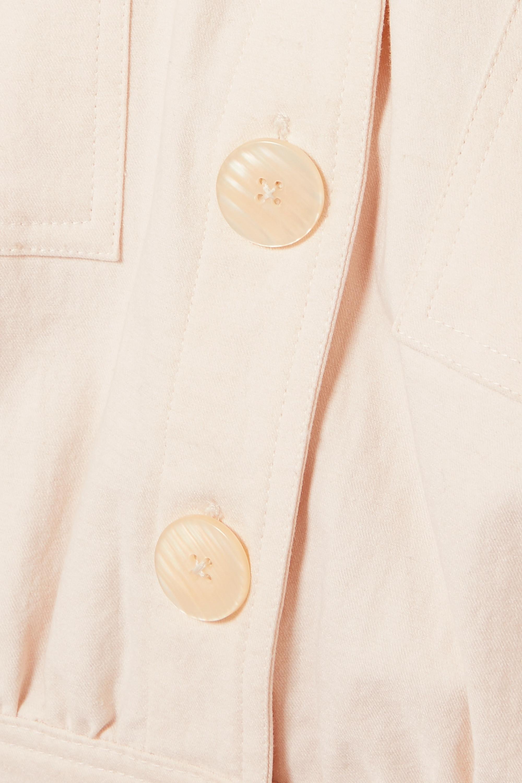 The Line By K Theo stretch-cotton twill mini dress
