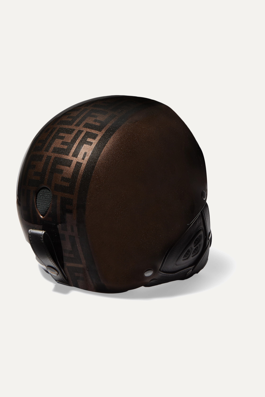 Fendi Printed ski helmet