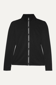 Fendi Tech-jersey ski top