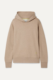 Tory Sport Mélange cotton-jersey hoodie