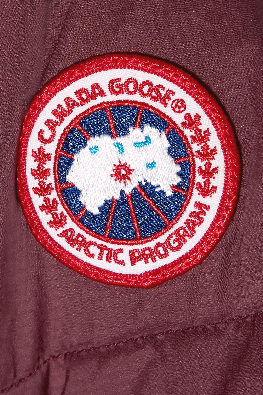 Canada Goose Alliston Daunenmantel aus gestepptem Shell mit Kapuze