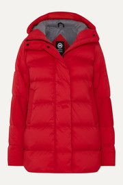Canada Goose Alliston hooded quilted shell down jacket