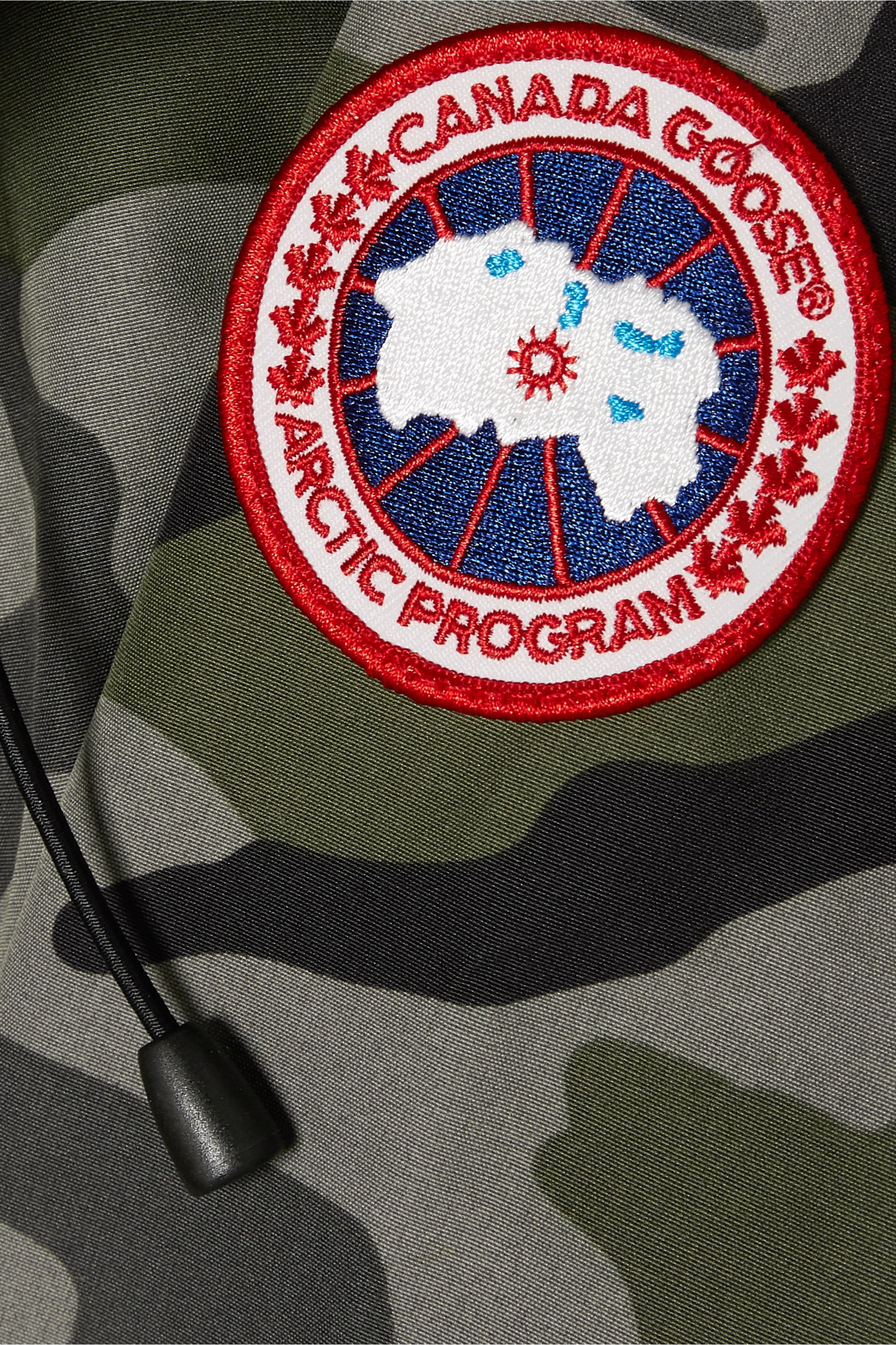 Canada Goose Rideau camouflage-print shell down parka