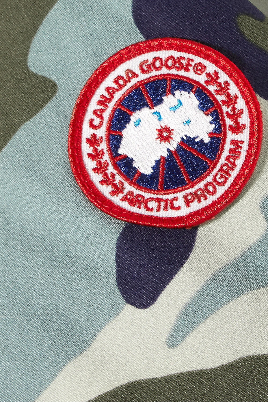 Canada Goose Blakely Daunenjacke aus Shell mit Camouflage-Print und Kapuze