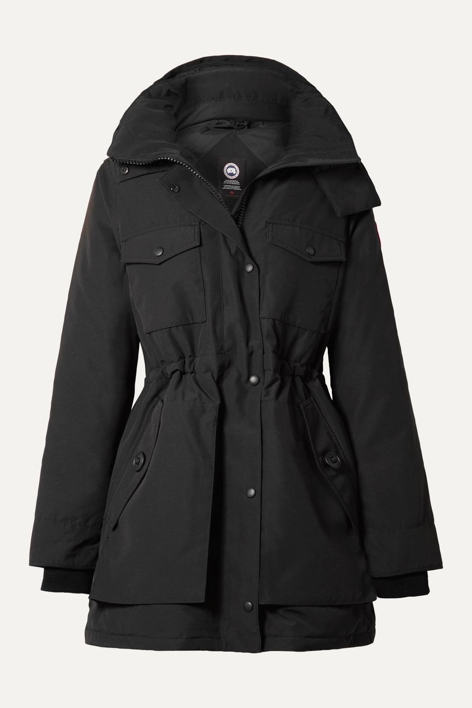 Canada Goose Gabriola hooded quilted shell down parka