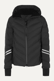 Canada Goose HyBridge hooded quilted shell down jacket