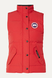Freestyle quilted shell down vest