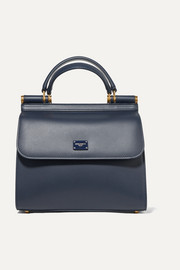 Dolce & Gabbana Sicily small leather tote