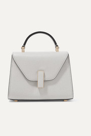Iside micro textured-leather shoulder bag