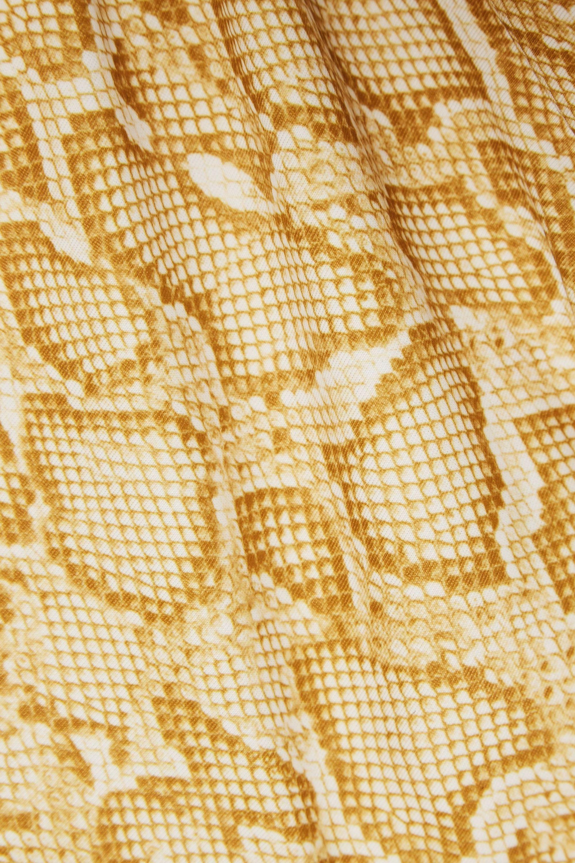 Faithfull The Brand Lila snake-print bikini