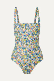 Phoebe floral-print swimsuit