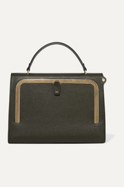 Anya Hindmarch Postbox textured-leather tote