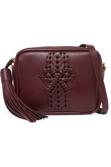 The Neeson Leather Shoulder Bag by Anya Hindmarch