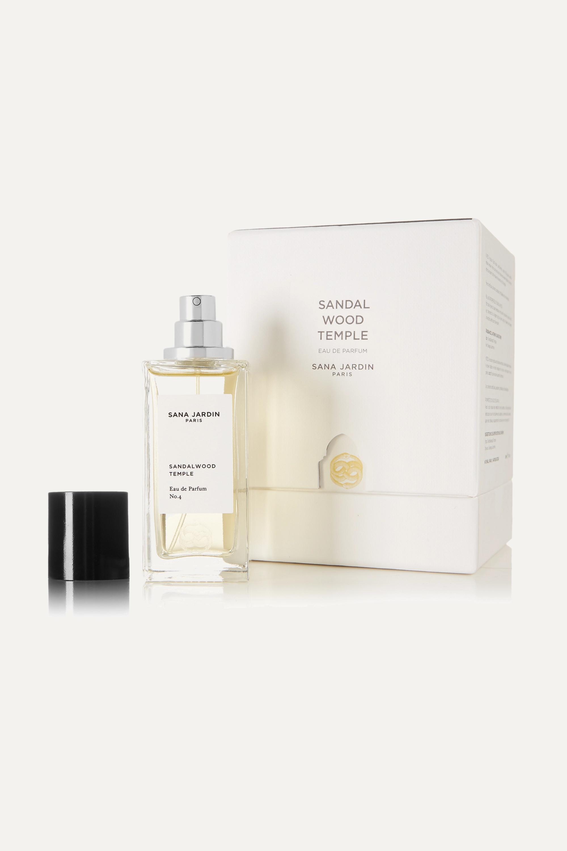 Sana Jardin + NET SUSTAIN Eau de Parfum - Sandalwood Temple, 50ml