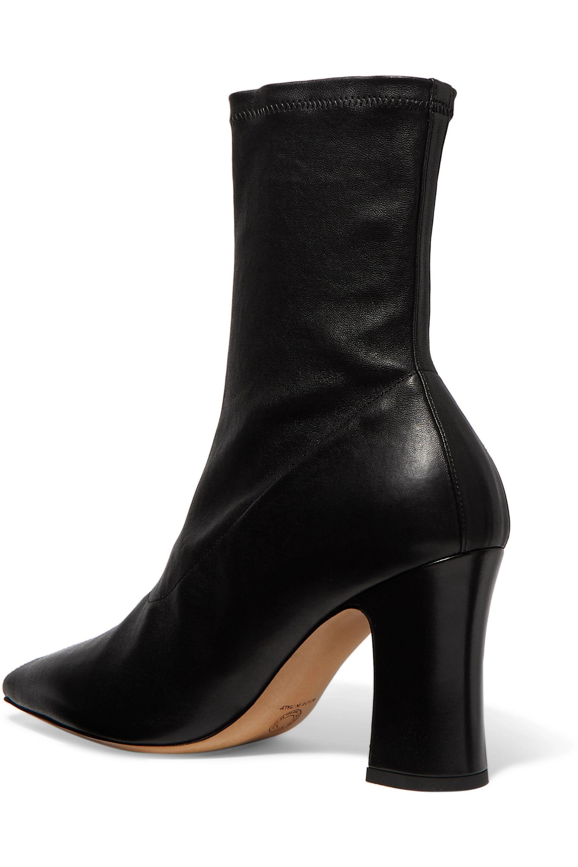 Dries Van Noten Leather sock boots