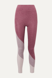 We Over Me The Yin color-block stretch-jersey leggings