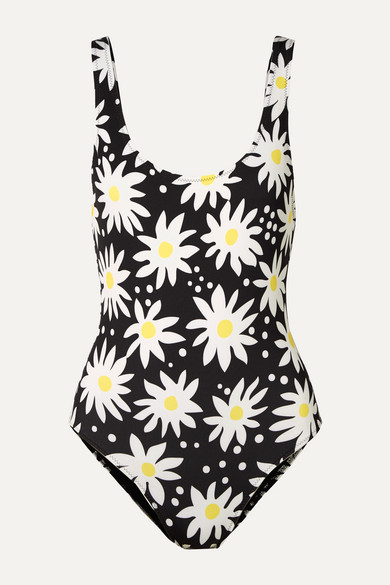 The Anne Marie Floral Print Swimsuit by Solid & Striped