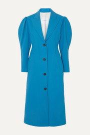 Pushbutton Crepe coat