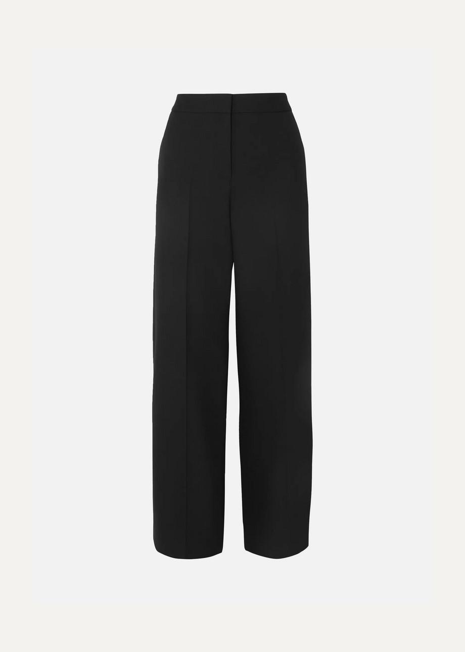 Alexander McQueen Wool-blend wide-leg pants