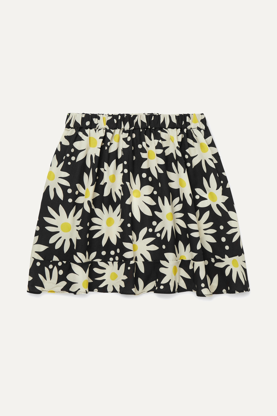Solid & Striped Kids Floral-print crepe de chine skirt