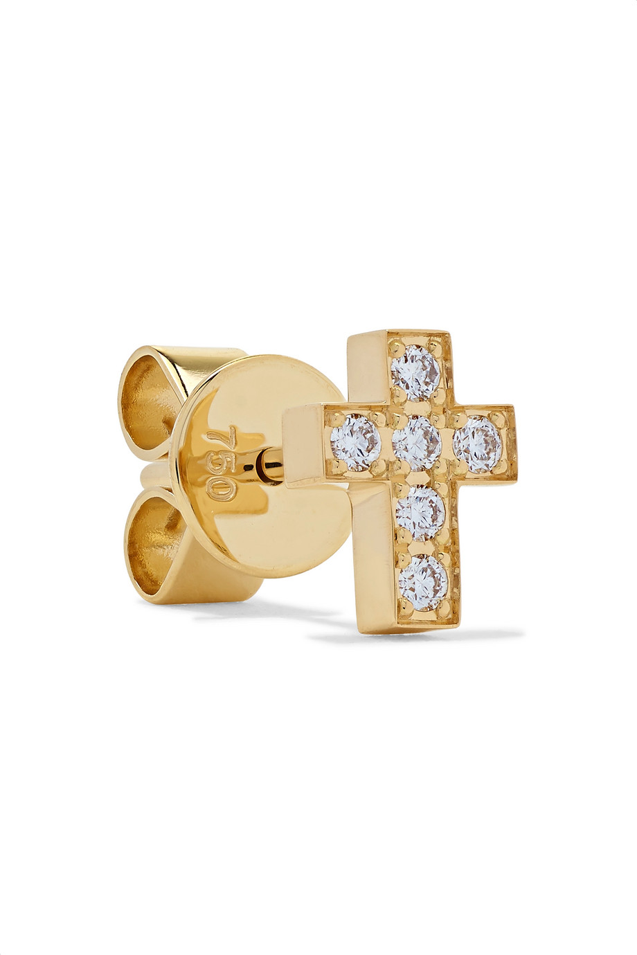 Sophie Bille Brahe Boucle d'oreille en or 18 carats et diamants Giulietta Oreille