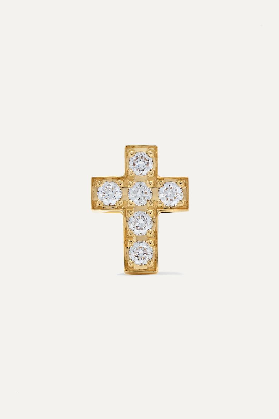 Sophie Bille Brahe Giulietta Oreille 18-karat gold diamond earring