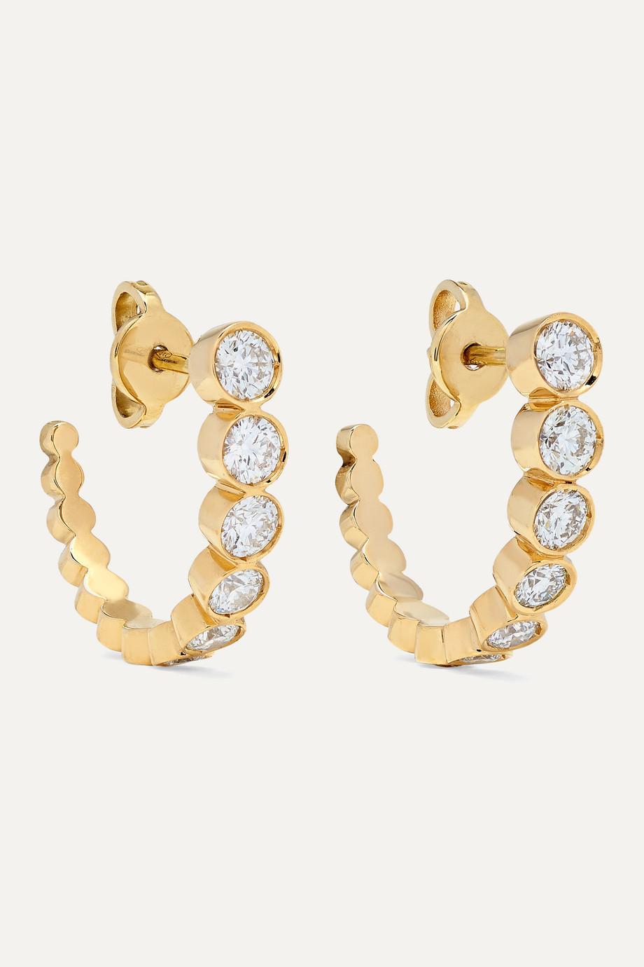 Sophie Bille Brahe Boucles d'oreilles en or 18 carats et diamants Boucle Ensemble