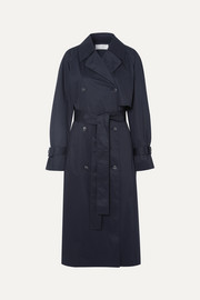 The Row Kereem cotton-blend trench coat