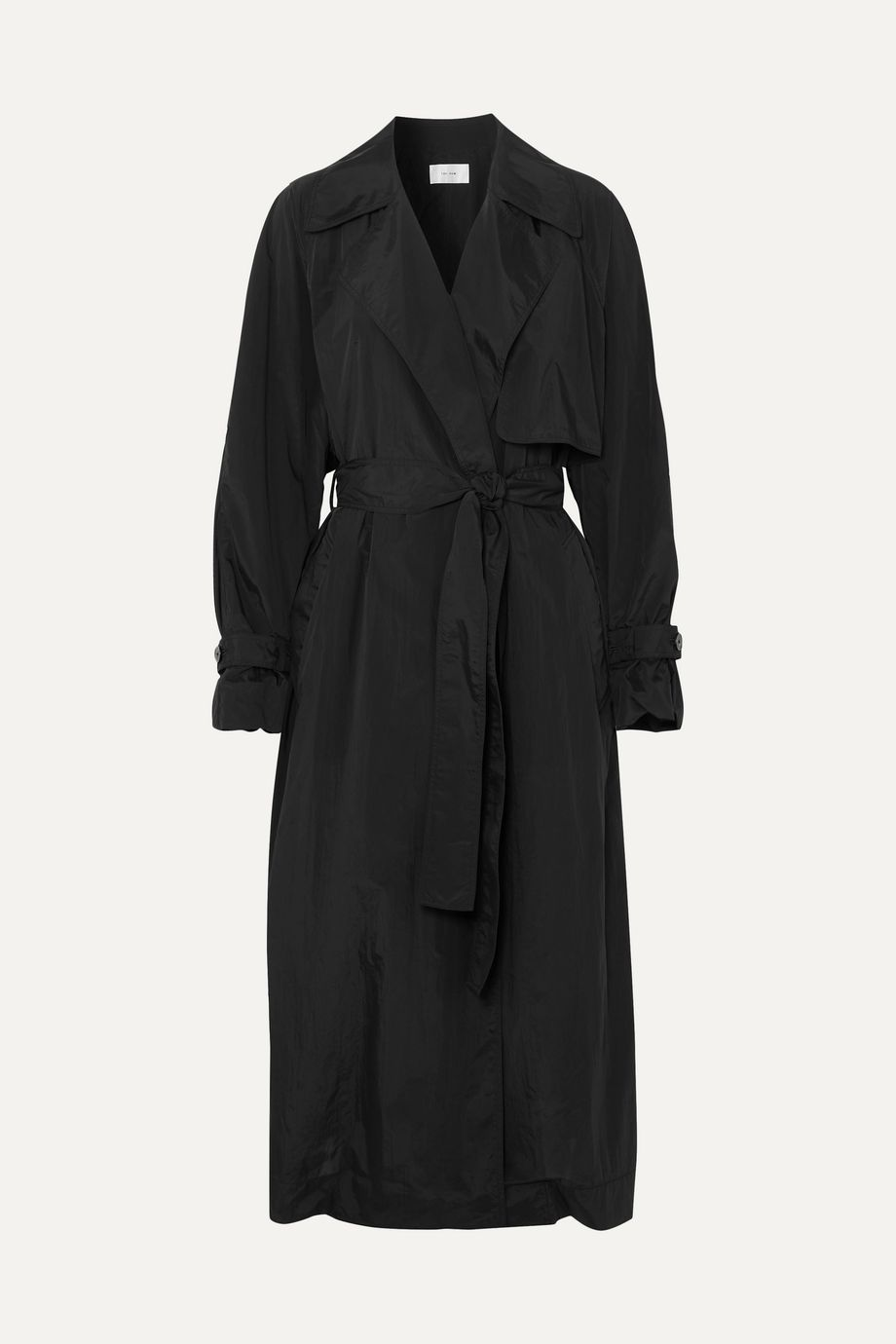 The Row Kareem belted shell trench coat