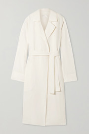 The Row Gami belted canvas trench coat