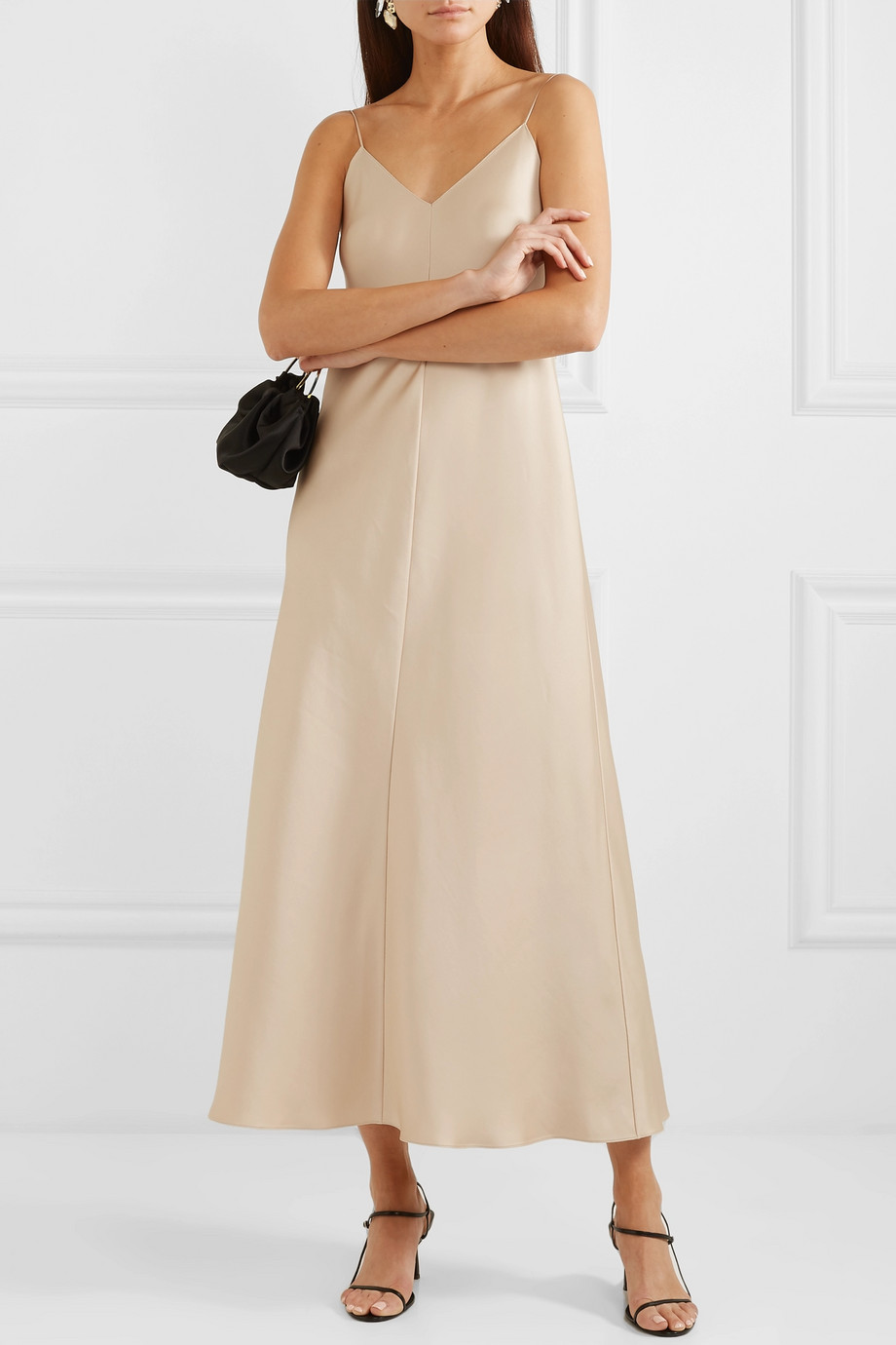 The Row Guinevere silk-satin maxi dress