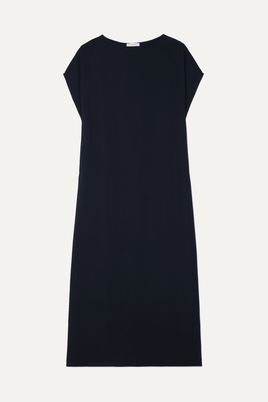 The Row Dunika draped stretch-cady maxi dress