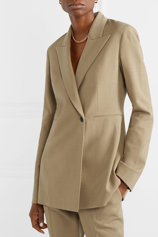 The Row Ciel 羊毛混纺绉纱西装式外套