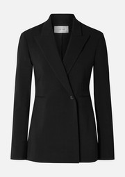 The Row Ciel wool-blend crepe blazer