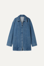 The Row Veste oversize en jean Hermia