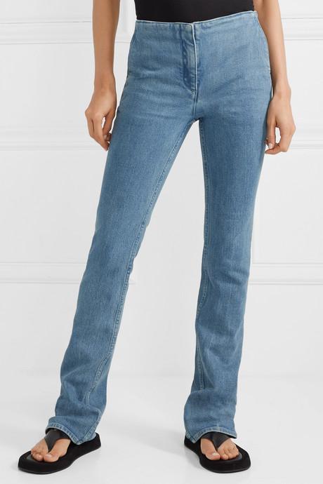 Laban mid-rise straight-leg jeans