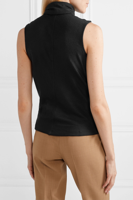 The Row Clovis stretch-cashmere turtleneck top