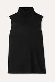 The Row Clovis stretch-cashmere turtleneck top