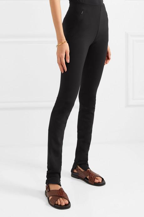 Corza stretch-scuba skinny pants