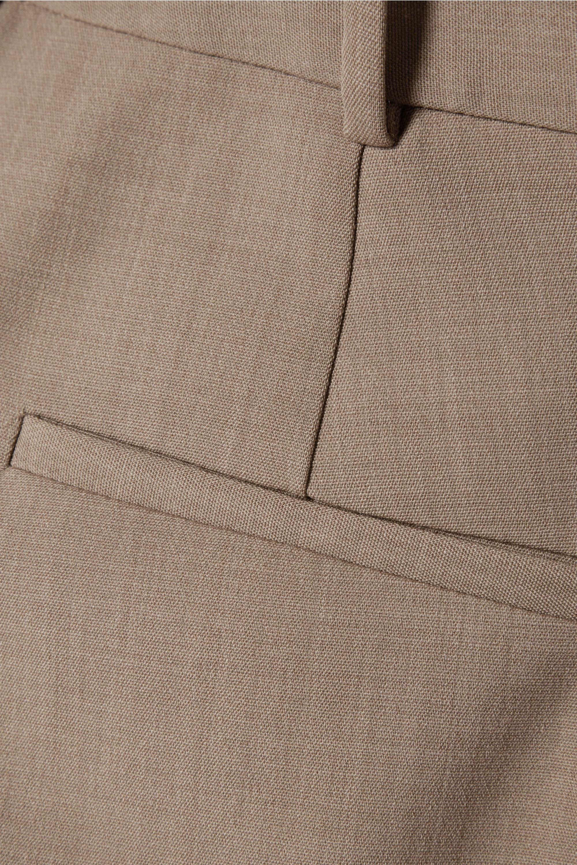 The Row Roosevelt 羊毛混纺绉纱紧身裤