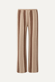 Culotta cashmere and silk-blend wide-leg pants