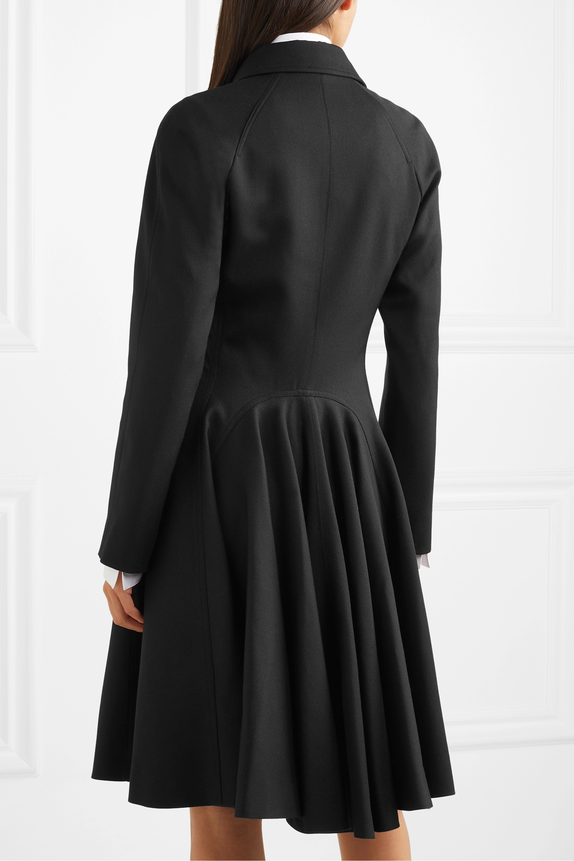 Alaïa Double-breasted wool-gabardine coat