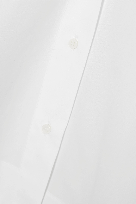 White Cotton-poplin Shirt | Alaïa