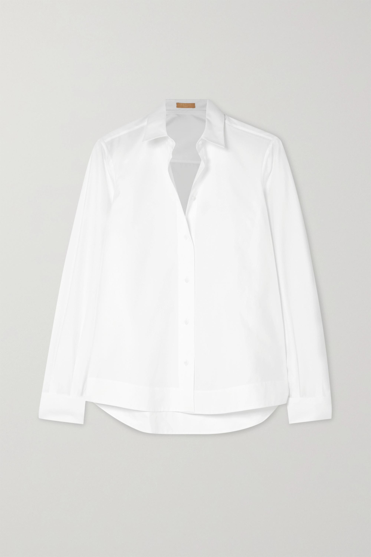 Alaïa Cotton-poplin shirt