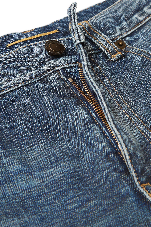 SAINT LAURENT Distressed boyfriend jeans