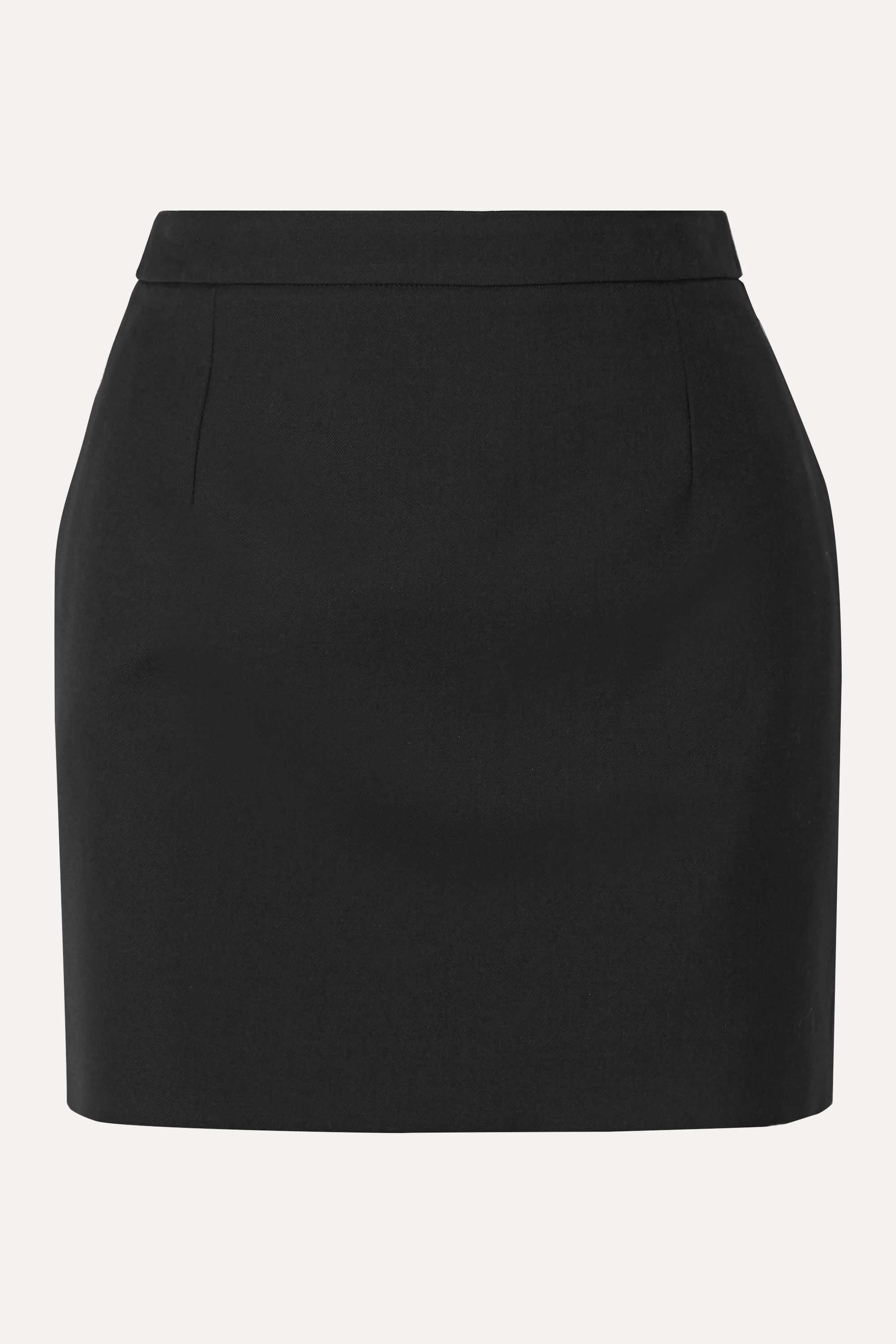 SAINT LAURENT Wool mini skirt