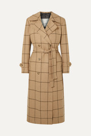 Giuliva Heritage Christie checked merino wool coat